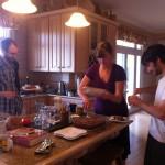 Kitchen and pie